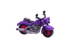 塑料玩具摩托车 免版税库存照片