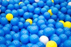 塑料球 免版税库存图片