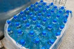 塑料瓶5公升 免版税库存图片