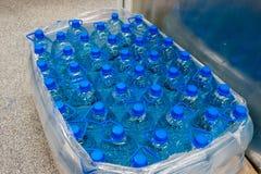 塑料瓶5公升 免版税库存照片