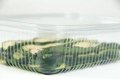 塑料的容器 免版税库存图片