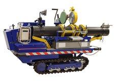 塑料的自走焊接系统用管道输送大直径 库存图片
