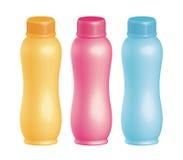 塑料的bottels 免版税库存图片