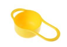 塑料碗筷 库存照片