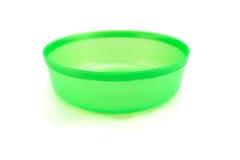 水塑料碗 库存照片
