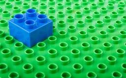 塑料积木 免版税库存图片