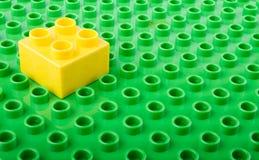 塑料积木 免版税图库摄影