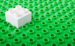 塑料积木 库存图片