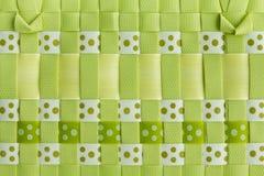 塑料织法 免版税库存照片