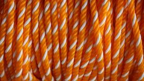 塑料绳索纹理 库存照片