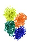 塑料聚合物 免版税库存照片