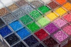 塑料聚合物 免版税库存图片
