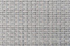 塑料背景的藤条编织的设计纹理  库存照片