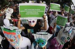 塑料袋饮食 免版税库存照片