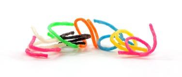 塑料韧劲的环形玩具 库存图片