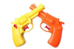 塑料水枪 免版税库存照片