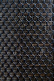 黑塑料滤网保护 图库摄影