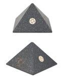 塑料pyramide 免版税库存照片