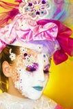 威尼斯式面具。 免版税图库摄影