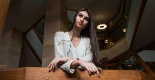 塑造衣裳的女孩从90 ` s 免版税图库摄影