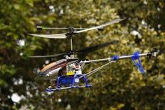塑造直升机 免版税库存照片
