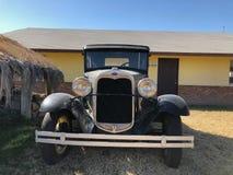 塑造1930年福特小轿车 库存图片