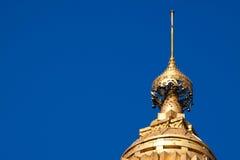 塔上面 免版税库存照片