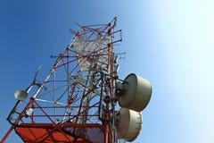 塔传输 库存图片