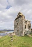 塔伯特城堡在Argyll,苏格兰 库存图片
