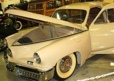 1948年塔克汽车正面图  库存照片