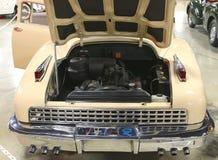 1948年塔克汽车背面图  库存图片