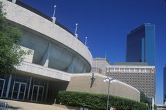 塔兰特县会议中心, Ft 价值, TX 图库摄影