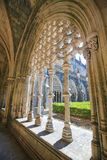 巴塔利亚修道院在葡萄牙 库存图片