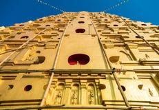 塔前面  库存图片