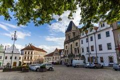 塔博尔是捷克共和国的一个小镇 免版税图库摄影