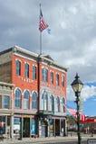 塔博尔歌剧院在Leadville,科罗拉多 免版税图库摄影