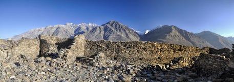 塔吉克斯坦全景 免版税库存图片