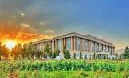 塔吉克斯坦国家博物馆在杜尚别 库存图片