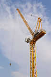 塔吊。 免版税库存图片
