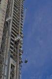 塔吊和装载 图库摄影