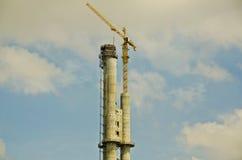 塔吊 免版税库存图片