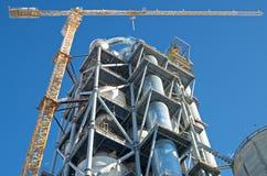 塔吊 免版税库存照片
