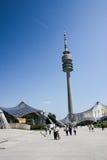 塔和体育场 库存照片