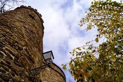 塔和灯 免版税库存图片