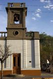 巴塔哥尼亚的教会 库存图片