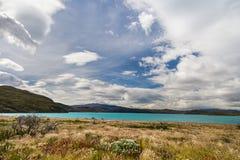 巴塔哥尼亚美好的风景  免版税图库摄影