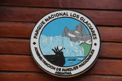 巴塔哥尼亚- Los Glaciares N P 库存照片