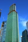 塔商业中心莫斯科市欧亚大陆的建筑  免版税库存照片