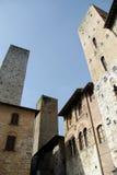 塔圣Gimignano 库存图片