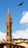 塔在佛罗伦萨。 免版税库存图片